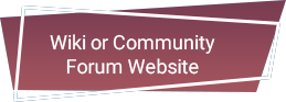 Wiki or Community Forum Website